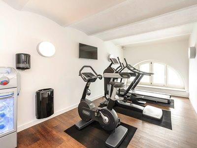 gym - hotel ibis styles trier - trier, germany