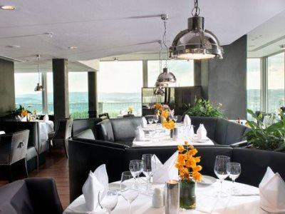 restaurant 2 - hotel wyndham garden lahnstein koblenz - lahnstein, germany