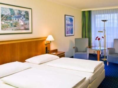 bedroom - hotel wyndham garden lahnstein koblenz - lahnstein, germany