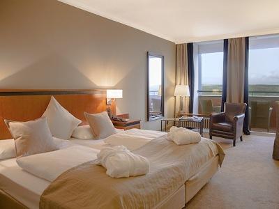 bedroom 1 - hotel wyndham garden lahnstein koblenz - lahnstein, germany