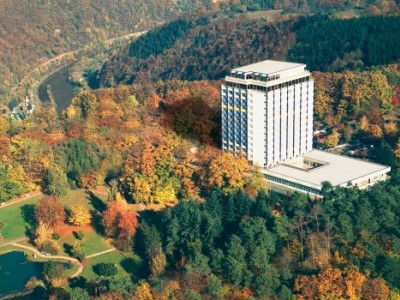 exterior view - hotel wyndham garden lahnstein koblenz - lahnstein, germany