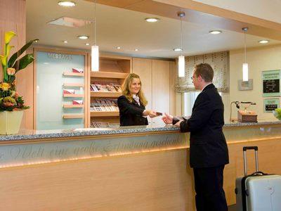 lobby - hotel mercure hotel bad homburg friedrichsdorf - friedrichsdorf, germany