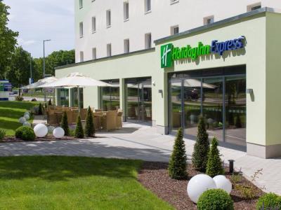 exterior view 1 - hotel holiday inn express neukirchen - neunkirchen, germany