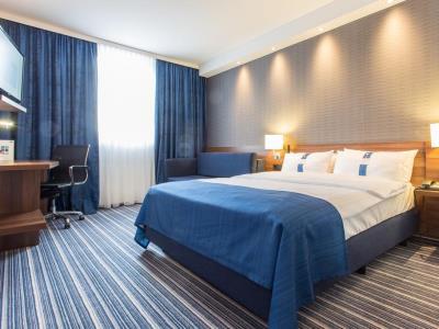 bedroom - hotel holiday inn express neukirchen - neunkirchen, germany