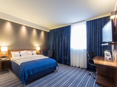 bedroom 1 - hotel holiday inn express neukirchen - neunkirchen, germany