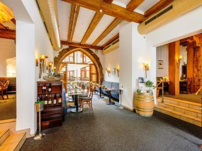 restaurant 1 - hotel mercure erfurt altstadt - erfurt, germany
