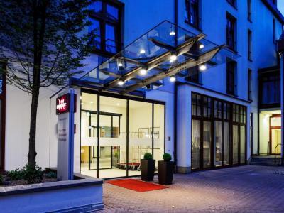 exterior view 1 - hotel mercure erfurt altstadt - erfurt, germany