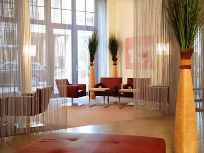 lobby - hotel mercure erfurt altstadt - erfurt, germany