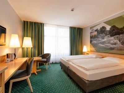 bedroom 1 - hotel mercure erfurt altstadt - erfurt, germany
