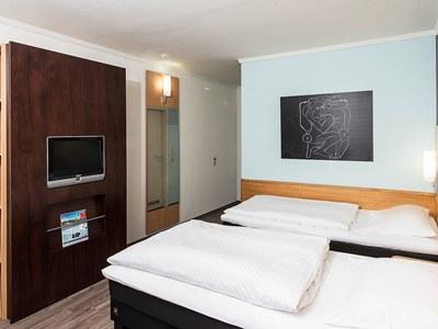 bedroom 1 - hotel good morning erfurt - erfurt, germany
