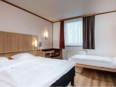bedroom 2 - hotel good morning erfurt - erfurt, germany