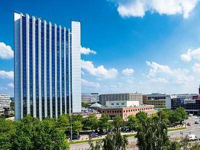 exterior view - hotel dorint kongresshotel chemnitz - chemnitz, germany