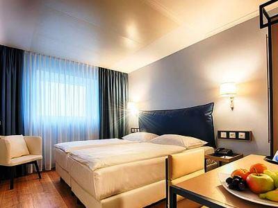 bedroom - hotel dorint kongresshotel chemnitz - chemnitz, germany