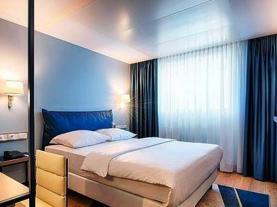 bedroom 2 - hotel dorint kongresshotel chemnitz - chemnitz, germany