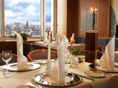 restaurant - hotel dorint kongresshotel chemnitz - chemnitz, germany
