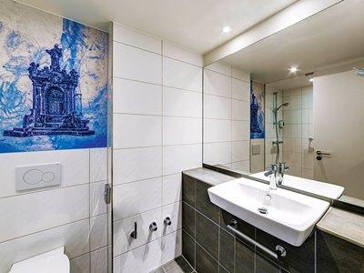 bathroom - hotel ibis styles rastatt baden baden - rastatt, germany