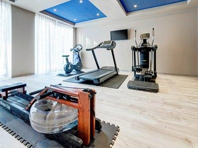 gym - hotel ibis styles rastatt baden baden - rastatt, germany