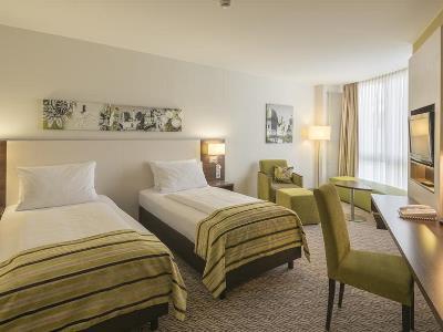 bedroom 4 - hotel holiday inn munich unterhaching - unterhaching, germany