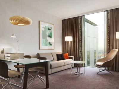 bedroom 1 - hotel clarion copenhagen airport - copenhagen, denmark