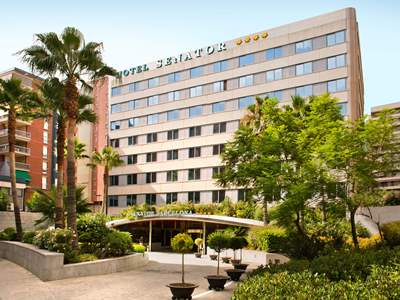exterior view - hotel senator barcelona spa - barcelona, spain