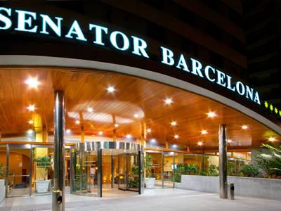 exterior view 1 - hotel senator barcelona spa - barcelona, spain