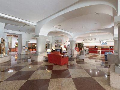 lobby - hotel senator barcelona spa - barcelona, spain