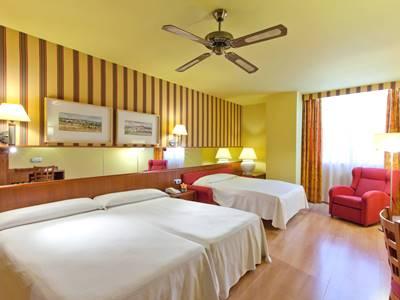 bedroom 2 - hotel senator barcelona spa - barcelona, spain