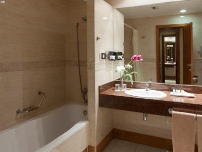 bathroom - hotel senator gran via 70 spa - madrid, spain