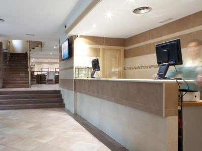 lobby - hotel senator castellana - madrid, spain