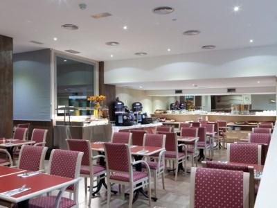 restaurant 1 - hotel senator castellana - madrid, spain