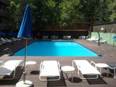 outdoor pool - hotel senator castellana - madrid, spain