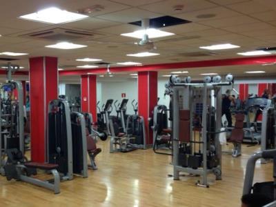 gym - hotel senator castellana - madrid, spain