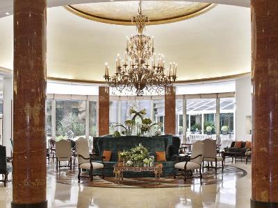 lobby - hotel intercontinental - madrid, spain