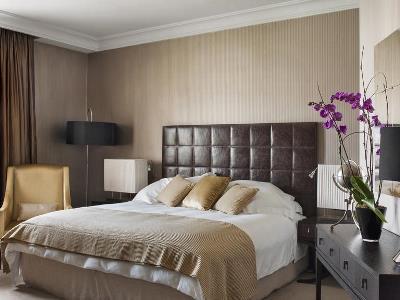 bedroom - hotel intercontinental - madrid, spain