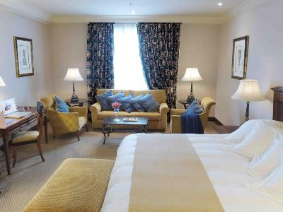 bedroom 1 - hotel intercontinental - madrid, spain