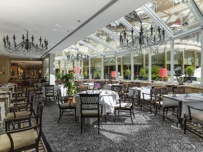 restaurant - hotel intercontinental - madrid, spain