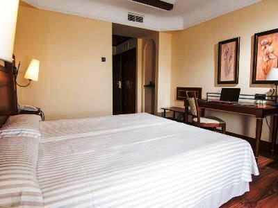 bedroom - hotel abades guadix - guadix, spain