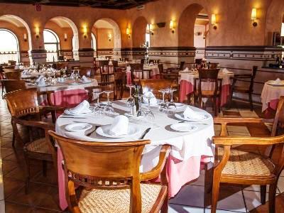 restaurant - hotel abades guadix - guadix, spain