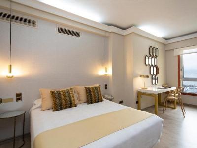 bedroom - hotel ciudad de vigo - vigo, spain