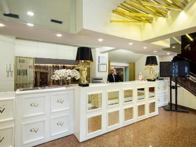 lobby - hotel ciudad de vigo - vigo, spain