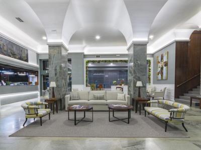lobby - hotel bahia de vigo - vigo, spain