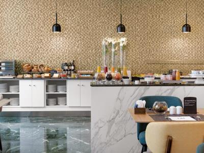 breakfast room - hotel nh ciudad de cuenca - cuenca, spain