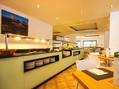 restaurant - hotel thb flora - lanzarote, spain