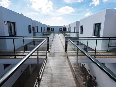 exterior view - hotel thb flora - lanzarote, spain