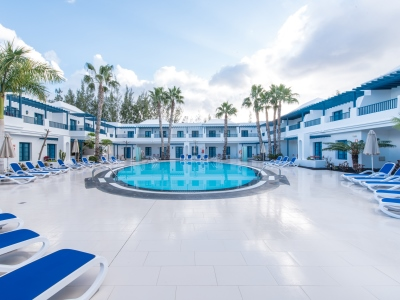 exterior view - hotel thb tropical island - lanzarote, spain
