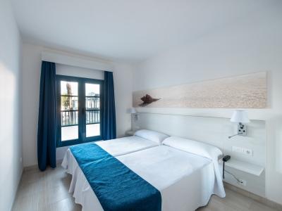 bedroom 1 - hotel thb tropical island - lanzarote, spain