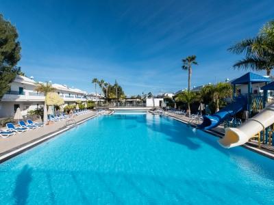 outdoor pool 1 - hotel thb tropical island - lanzarote, spain
