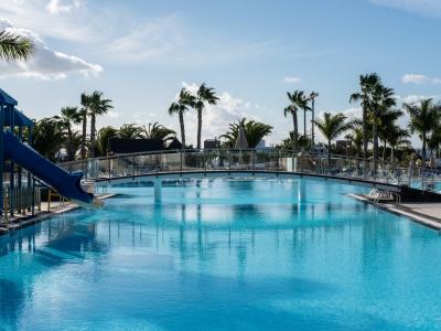 outdoor pool 2 - hotel thb tropical island - lanzarote, spain