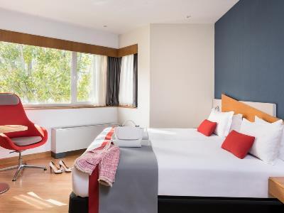 bedroom 1 - hotel ramada by wyndham madrid tres cantos - tres cantos, spain