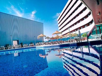 outdoor pool - hotel ohtels campo de gibraltar - la linea de la concepcion, spain